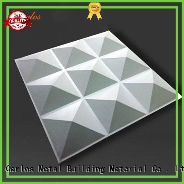 Carlos circular aluminum composite panel manufacturers round for roof
