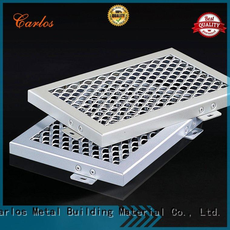 blade grille Carlos perforated metal ceiling tiles suppliers