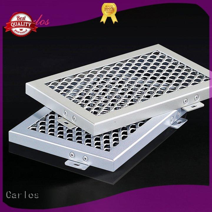 perforated metal ceiling tiles suppliers side Carlos Brand metal ceiling panels