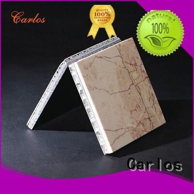 Carlos honeycomb aluminum honeycomb sandwich panels Supply
