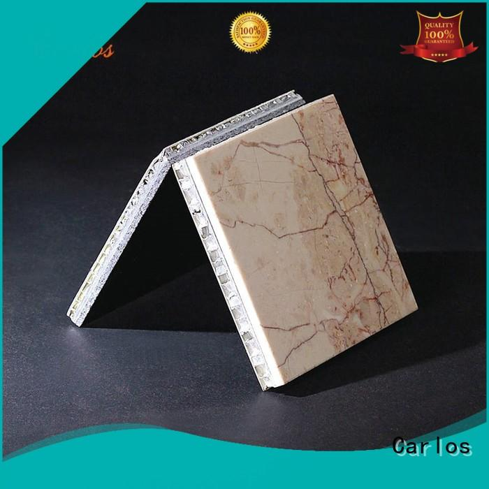 composite surface Carlos Brand aluminum honeycomb panels for sale factory