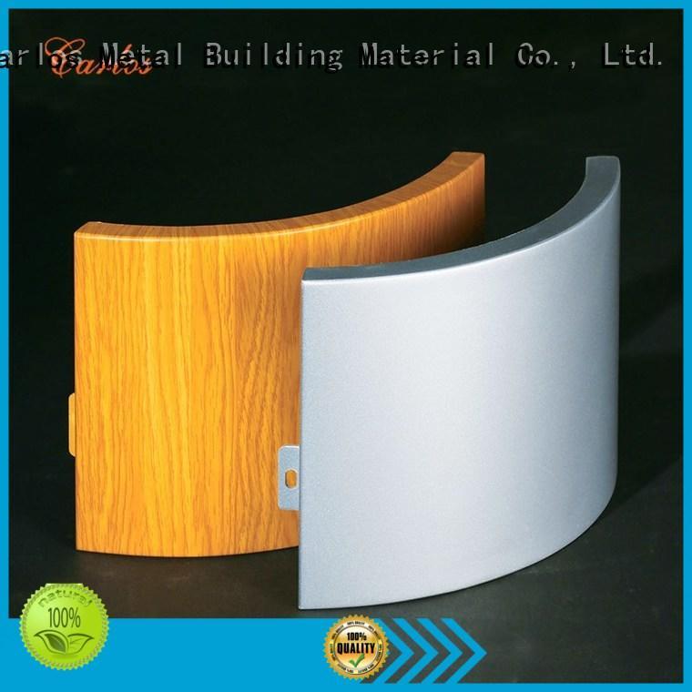 Carlos bag aluminium cladding panels manufacturers