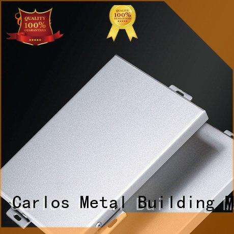 package metal round Carlos aluminum panels