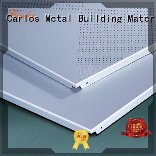 series side ceilings metal Carlos perforated metal ceiling tiles suppliers