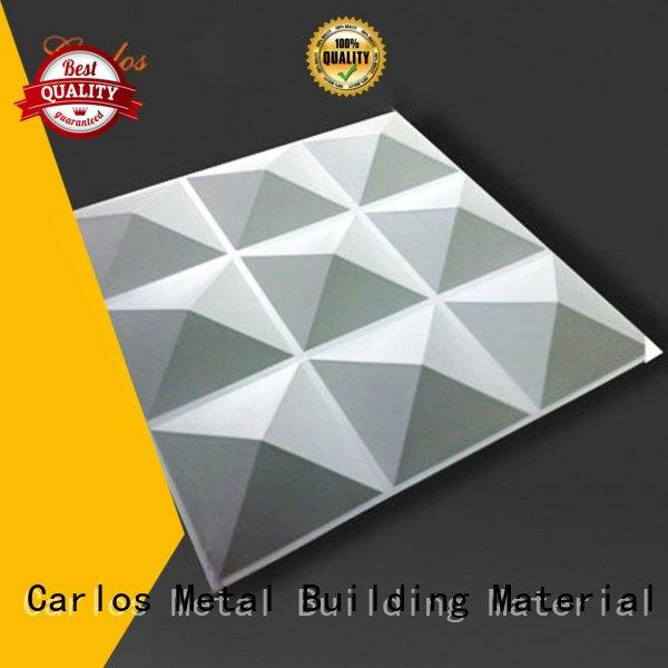 wavy square aluminum wall panels exterior aluminum bag Carlos Brand