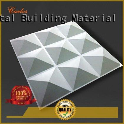 Carlos aluminum panels round circular metal wavy