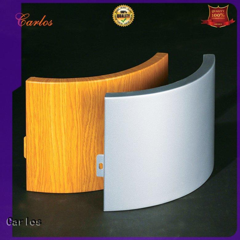aluminum wall panels exterior board flatseam Carlos Brand