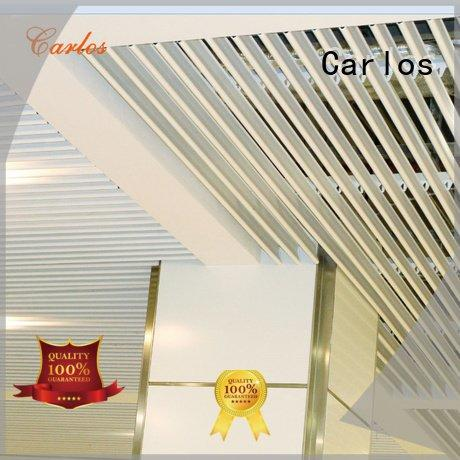 Carlos Brand ceilings through perforated metal ceiling tiles suppliers side ceiling