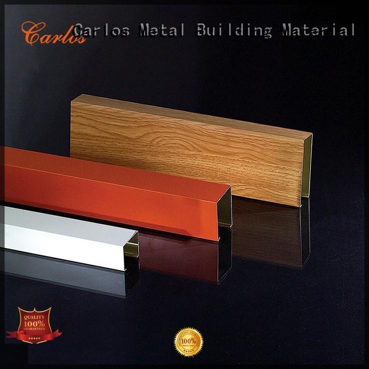 Hot baffle metal ceiling panels ceilings square Carlos Brand