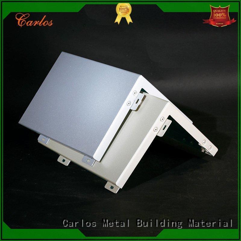 single aluminum wall panels exterior seamless aluminum panels Carlos Brand aluminum