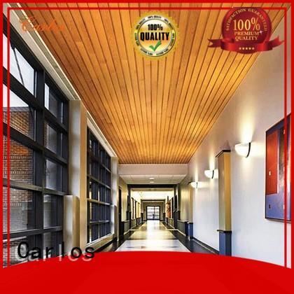 ceilings Custom blade metal metal ceiling panels Carlos square