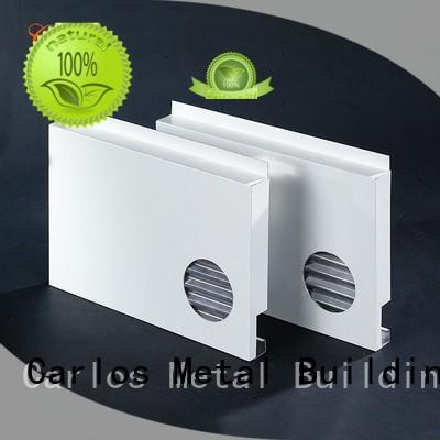 Carlos Brand column hollow aluminum wall panels exterior aluminum supplier
