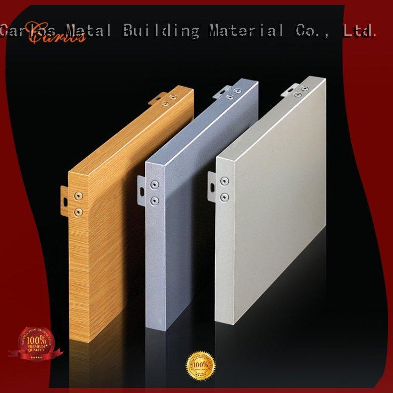 Hot aluminum wall panels exterior flat hyperbolic art Carlos Brand