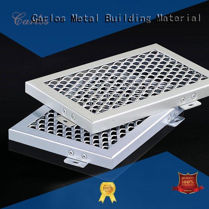 OEM perforated metal ceiling tiles suppliers through ceilings side metal ceiling panels