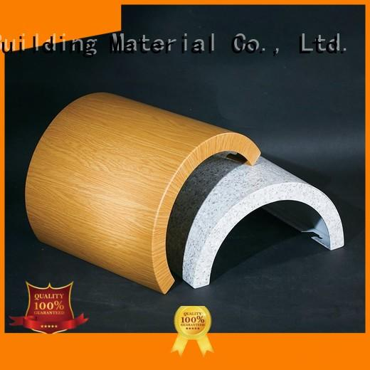 Carlos seamless aluminum composite material suppliers hyperbolic for internal wall