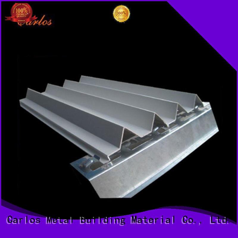 Carlos corrugated aluminum composite wall panels design for decoration