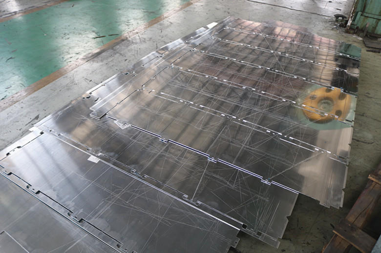 This is a video of our process in processing aluminum.