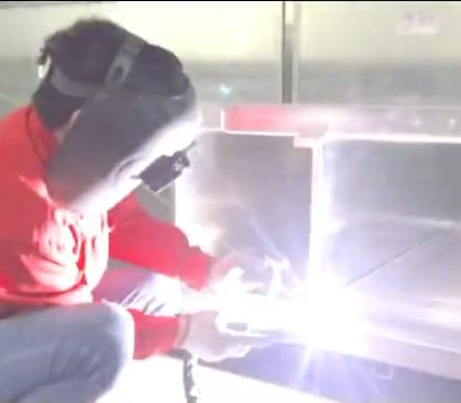 Aluminum Veneer Welding
