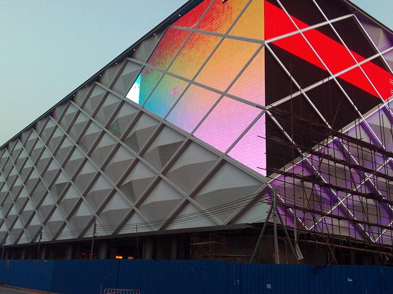 Aluminum veneer - Zhongshan Light Cube