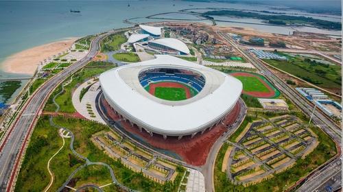 Hyperbolic Aluminum Veneer  Zhanjiang Olympic Sports Center