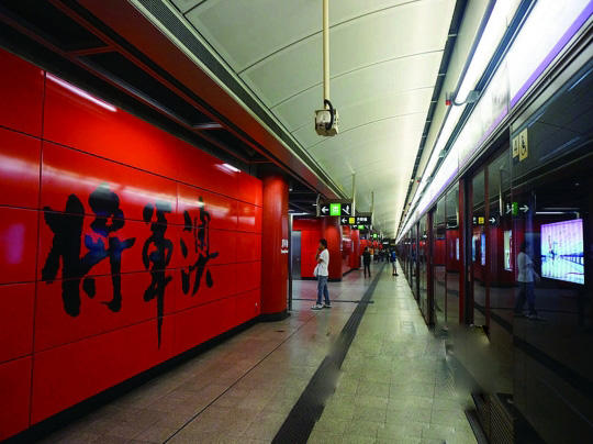 Flat Seamless Aluminum Veneer - Tseung Kwan O Station
