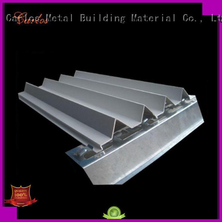 corrugated aluminium cladding panels design for exterior wall