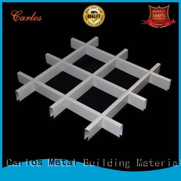 Carlos blade metal suspended ceiling buckle for decoration