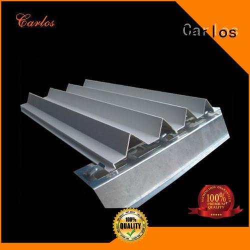 Carlos corrugated aluminum composite material suppliers factory for decoration