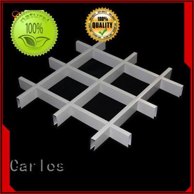 Carlos New steel ceiling panels company