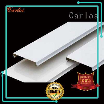 Carlos blade drop ceiling panels customized for decoration