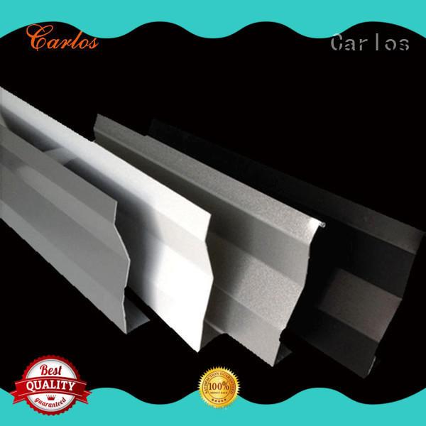 buckle sheet metal ceiling panels design for roof Carlos