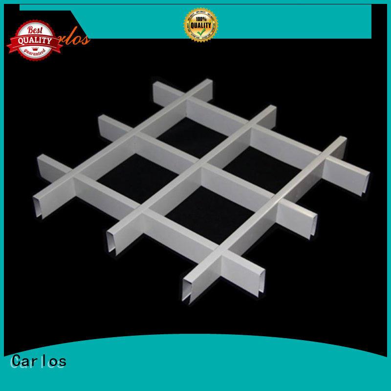 Carlos netting aluminium ceiling tiles factory for decoration
