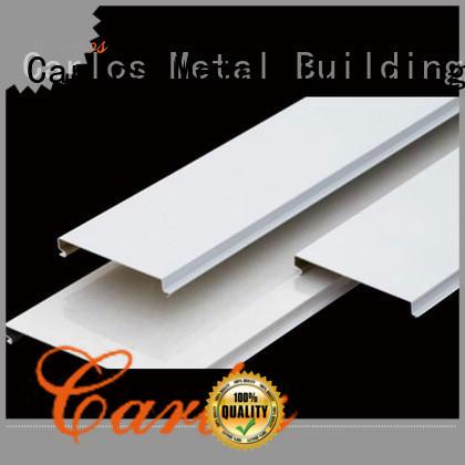 Carlos High-quality aluminium ceiling manufacturers