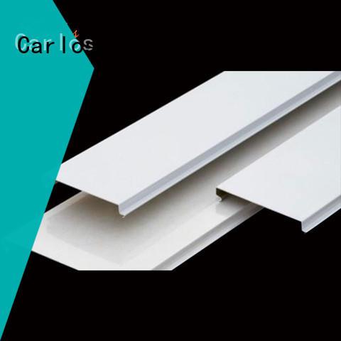 Carlos ceiling aluminium ceiling tiles company