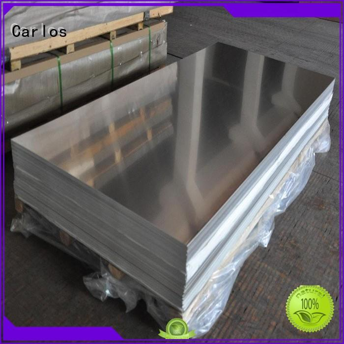 Carlos modern aluminium manufacturing process customized for roof