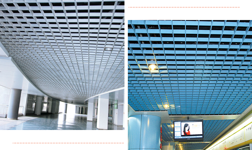 Carlos netting perforated ceiling tiles baffle for buildings