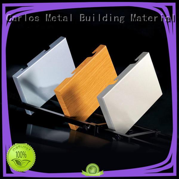 flatseam exterior aluminum panels design for internal wall Carlos