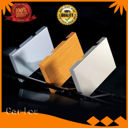 art aluminium composite sheet customized for exterior wall Carlos