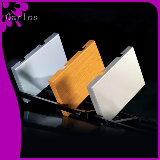 Carlos single aluminium cladding panels company