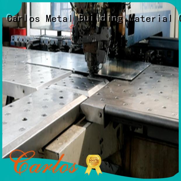 Carlos material aluminium production process factory