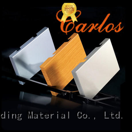 Carlos metal exterior aluminum panels supplier for exterior wall