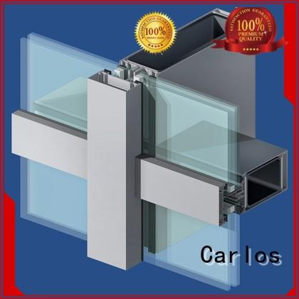 Custom window curtain aluminum curtain wall Carlos wall