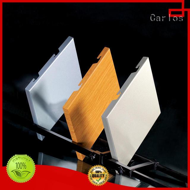 veneer square aluminum single Wholesale flat aluminum panels Carlos Brand