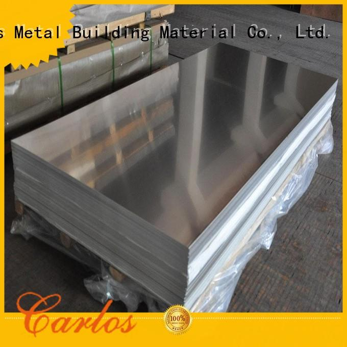 Carlos modern aluminium production raw for decoration