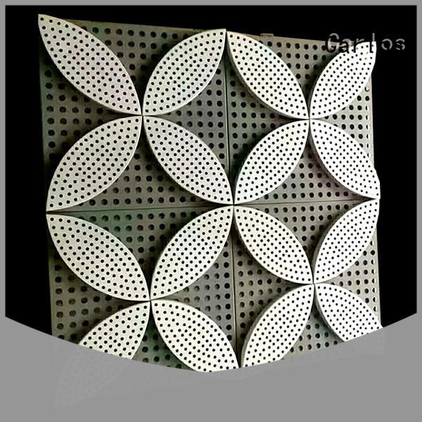 Carlos single aluminium composite panel manufacturers