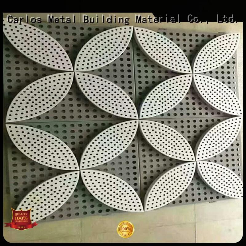 wavy aluminum panels seamless Carlos company