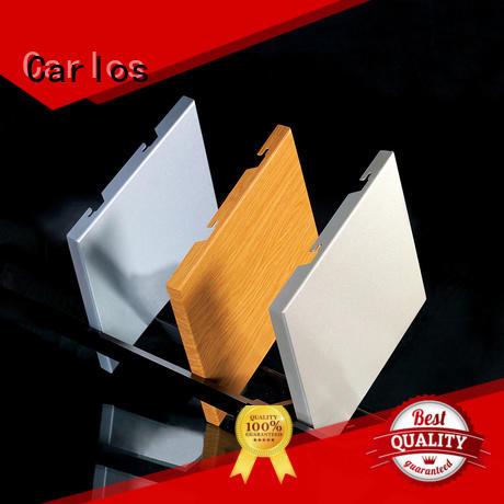 board sewing aluminum panels seamless art Carlos company