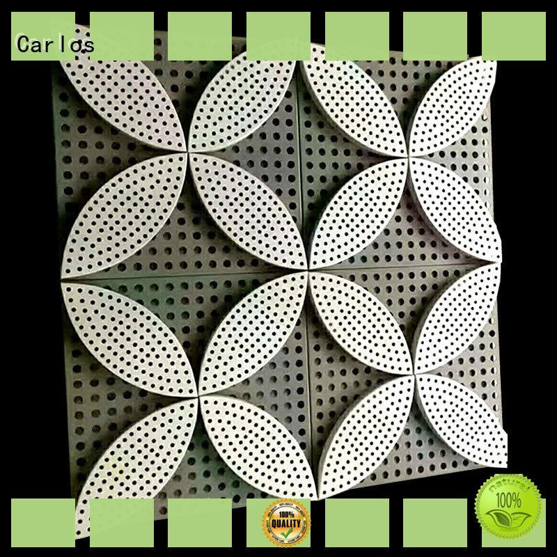 Carlos corrugated aluminium composite panel design for decoration