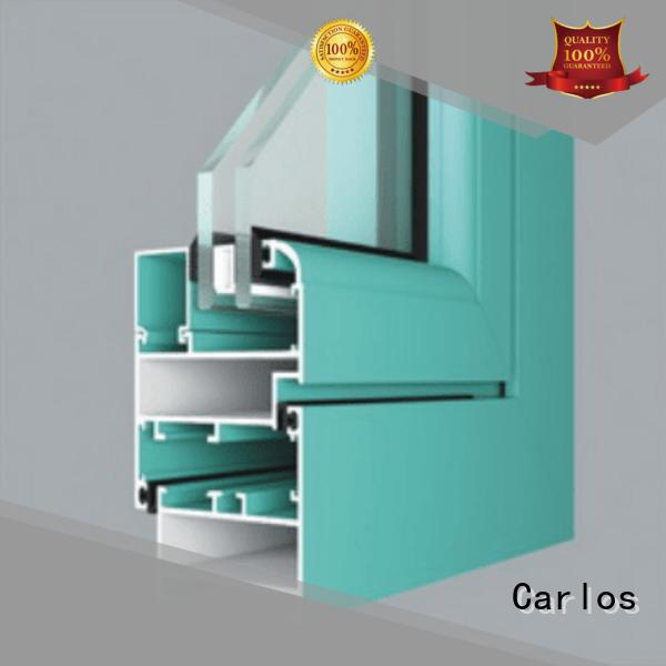 aluminum aluminum curtain wall manufacturer casement Carlos company